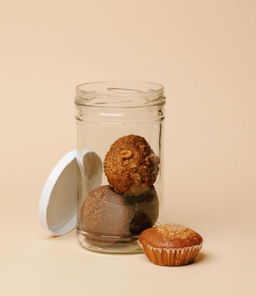 muffins veganos y ecológicos